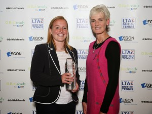 Aegon Coach of the Year Awards - May '14. Angela Crossley - Club Coach of the Year