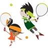green_orange_characters